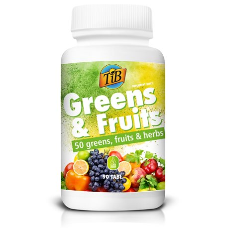 TiB® -  GREENS & FRUITS - 90tabl