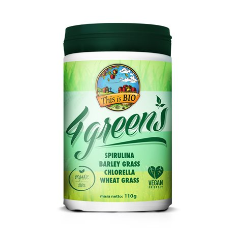 This is BIO® - 4 GREENS 100% ORGANIC - 110g