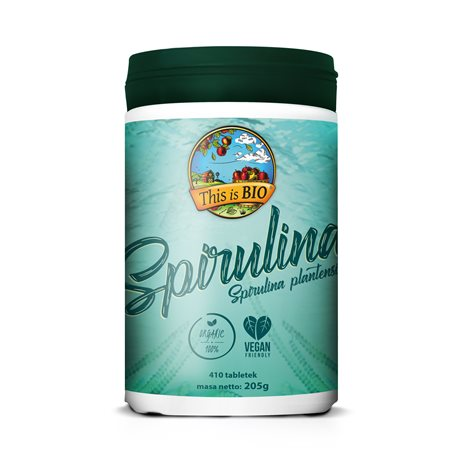 This is BIO® - SPIRULINA 100% ORGANIC - 410tab