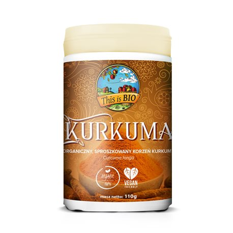 This is BIO® - KURKUMA 100% ORGANIC - 110g
