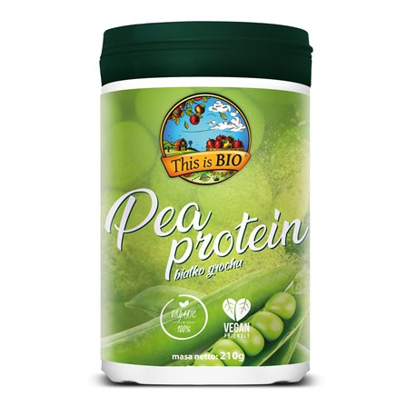 This is BIO® - PEA PROTEIN 100% ORGANIC - 210g